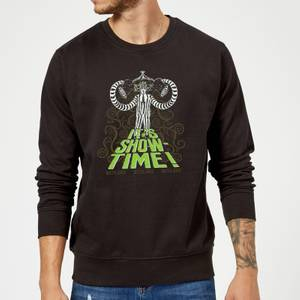 Beetlejuice It's Show-Time Sweatshirt - Black
