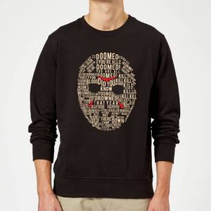 Friday the 13th Mask Sweatshirt - Black