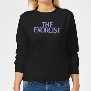 The Exorcist Logo Women's Sweatshirt - Black