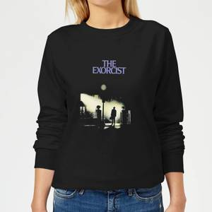 The Exorcist Poster Women's Sweatshirt - Black