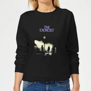 The Exorcist Poster Women's Sweatshirt - Black