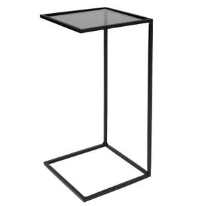 Broste Copenhagen Tania Steel Glass Table - Black