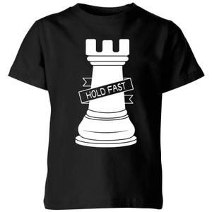 Rook Chess Piece Kids' T-Shirt - Black