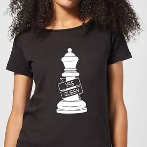 Queen Chess Piece Yas Queen Women's T-Shirt - Black