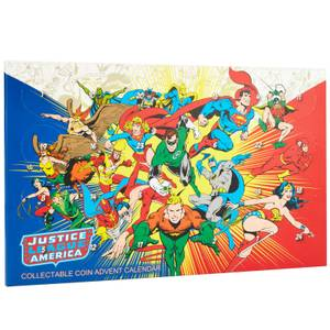 DC Comics JLA Limited Edition Collectable Coin Advent Calendar - Zavvi Exclusive
