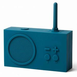 Lexon TYKHO 3 FM Radio and Bluetooth Speaker - Duck Blue