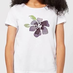 Purple Flower 1 Women's T-Shirt - White