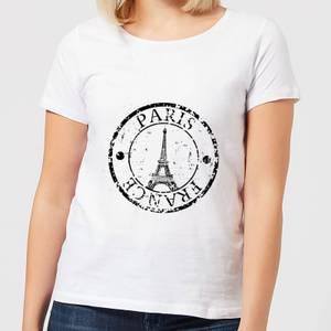 Paris France Women's T-Shirt - White