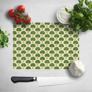 Cooking Broccoli Pattern Chopping Board