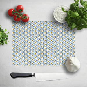 Cooking Fried Egg Pattern Chopping Board
