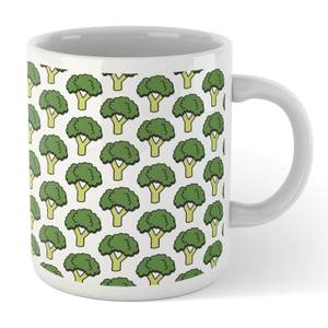 Cooking Broccoli Pattern Mug