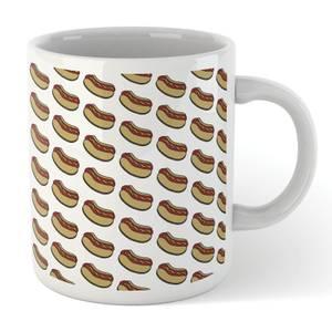 Cooking Hot Dog Pattern Mug