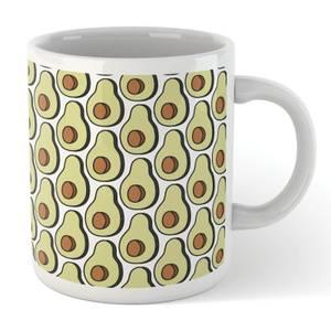 Cooking Avocado Pattern Mug