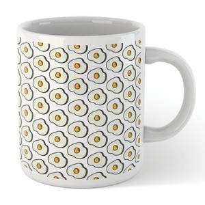 Cooking Fried Egg Pattern Mug