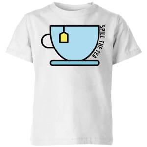 Cooking Spill The Tea Kids' T-Shirt