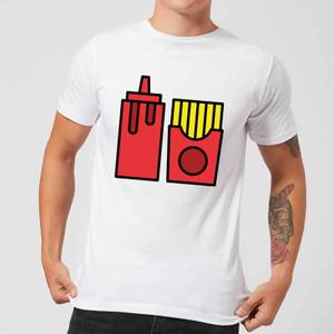 Cooking Ketchup And Fries Men's T-Shirt