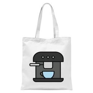 Cooking Coffee Machine Tote Bag