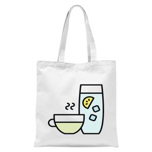 Cooking Cup Of Tea And Water Tote Bag