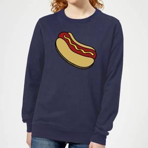Cooking Hot Dog Women's Sweatshirt