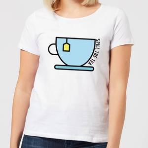 Cooking Spill The Tea Women's T-Shirt
