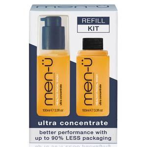 men-ü Healthy Facial Wash Refill Kit