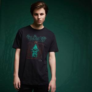 Legend Of Zelda Retro Arcade Hero T-Shirt - Black