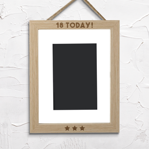 18 Today! Portrait Frame