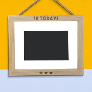 18 Today! Landscape Frame