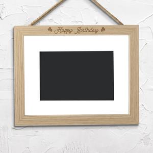 Happy Birthday Landscape Frame