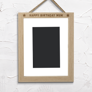 Happy Birthday Dad Portrait Frame