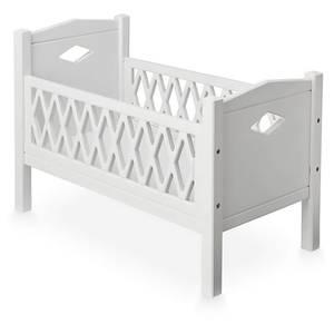 Cam Cam Harlequin Doll's Bed - White
