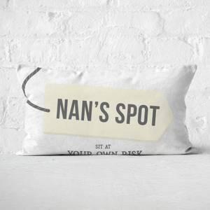 Nan's Spot Rectangular Cushion