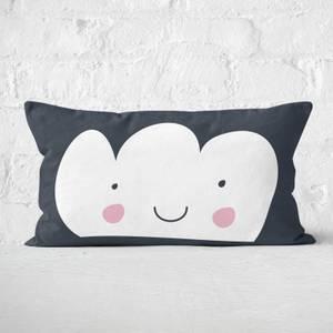 White Cloud Rectangular Cushion