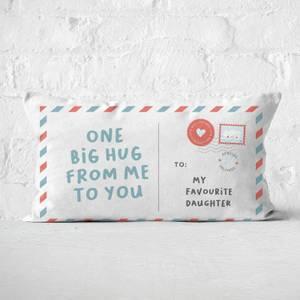 To My Favourite Daughter Rectangular Cushion