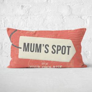 Mum's Spot Rectangular Cushion