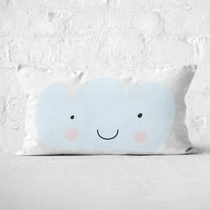 LightBlue Cloud Rectangular Cushion