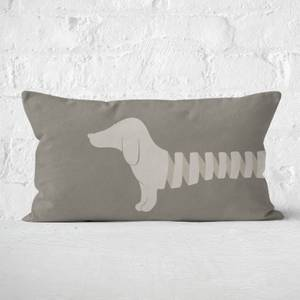 Long Sausage Dog Front Legs Rectangular Cushion