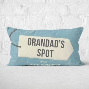 Grandad's Spot Rectangular Cushion