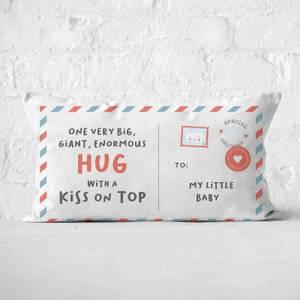 To My Little Baby Rectangular Cushion