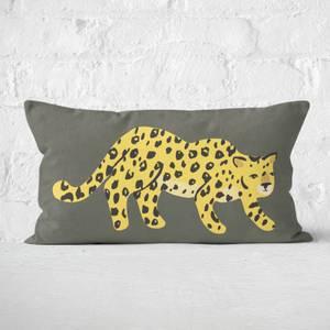 Cheetah Prowl Rectangular Cushion
