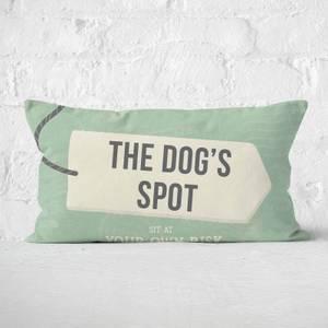The Dog's Spot Rectangular Cushion