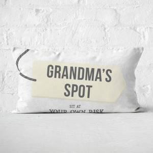 Grandma's Spot Rectangular Cushion