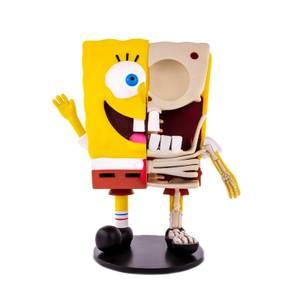 Statuetta in vinile di Spongebob sezionato - Mondo
