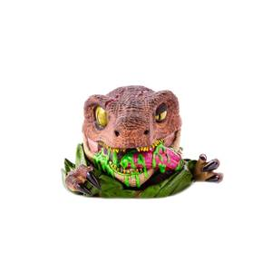 Statuetta in vinile di un Raptor, da Jurassic Park, linea Mondoid - Mondo