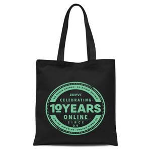 Zavvi 10 Year Stamp Tote Bag