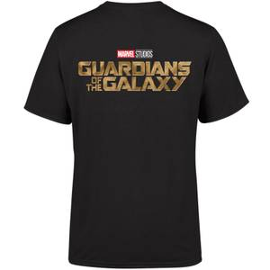 Marvel 10 Year Anniversary Guardians Of The Galaxy Men's T-Shirt - Black