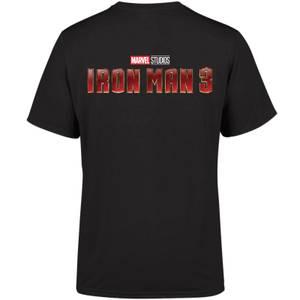 Marvel 10 Year Anniversary Iron Man 3 Men's T-Shirt - Black
