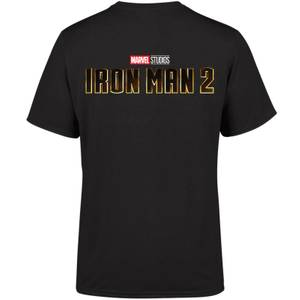 Marvel 10 Year Anniversary Iron Man 2 Men's T-Shirt - Black