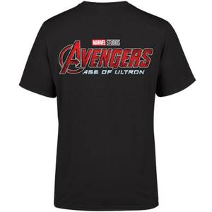 Marvel 10 Year Anniversary Age Of Ultron Men's T-Shirt - Black