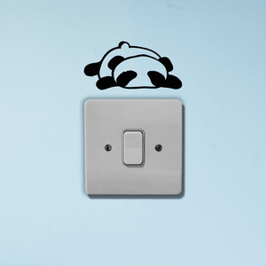 Panda Light Switch Art